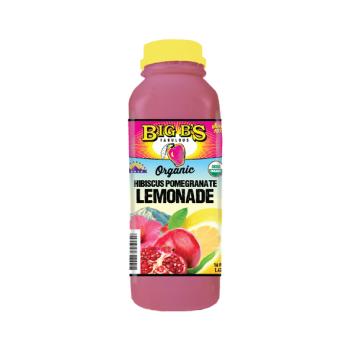 Hibiscus Pomegranate Lemonade